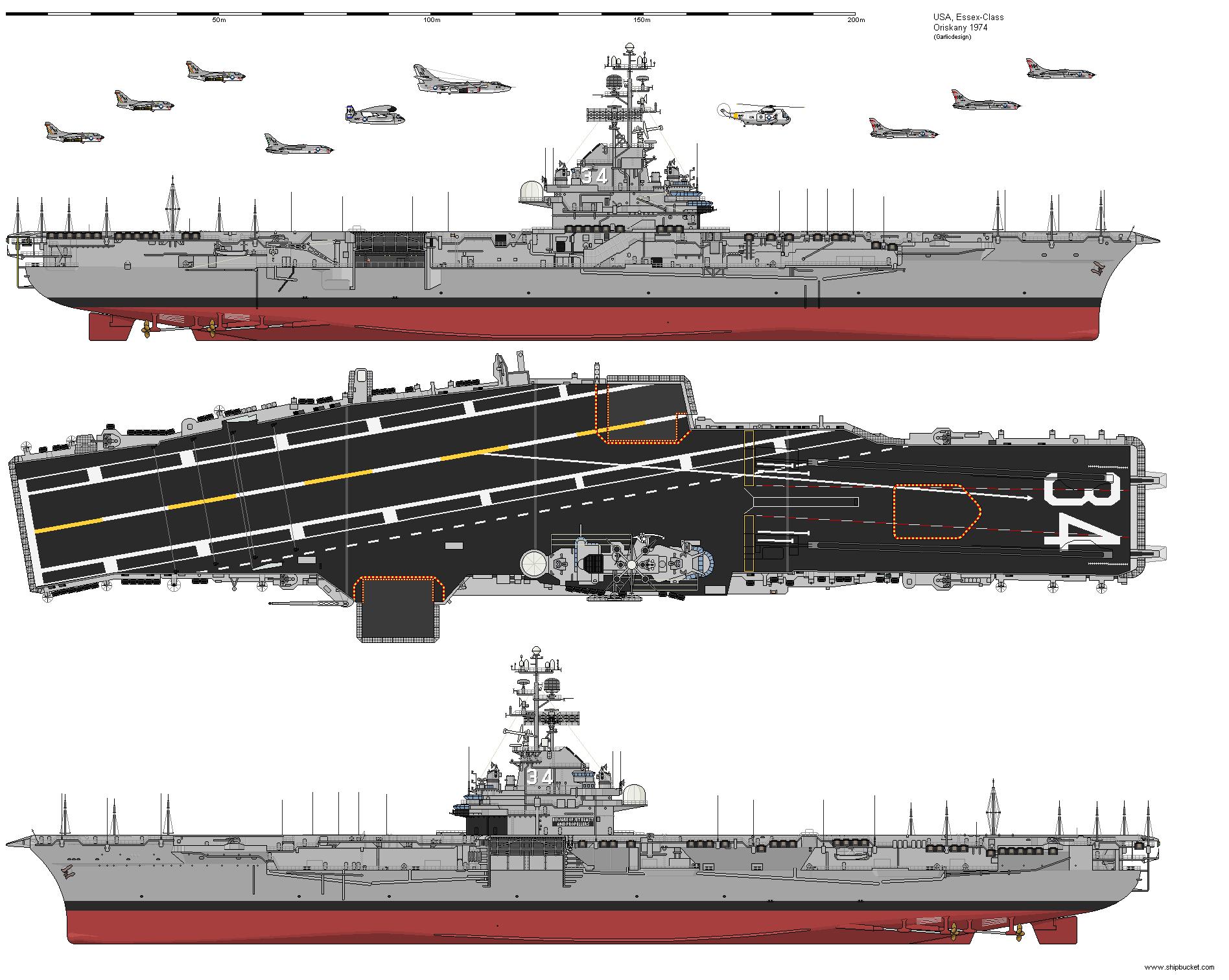 USS Oriskany - Shipbucket